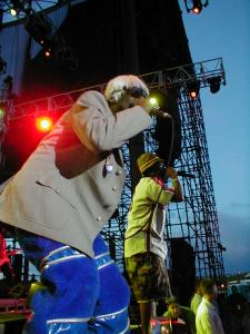 Outkast performing over a decade ago. (Credit to